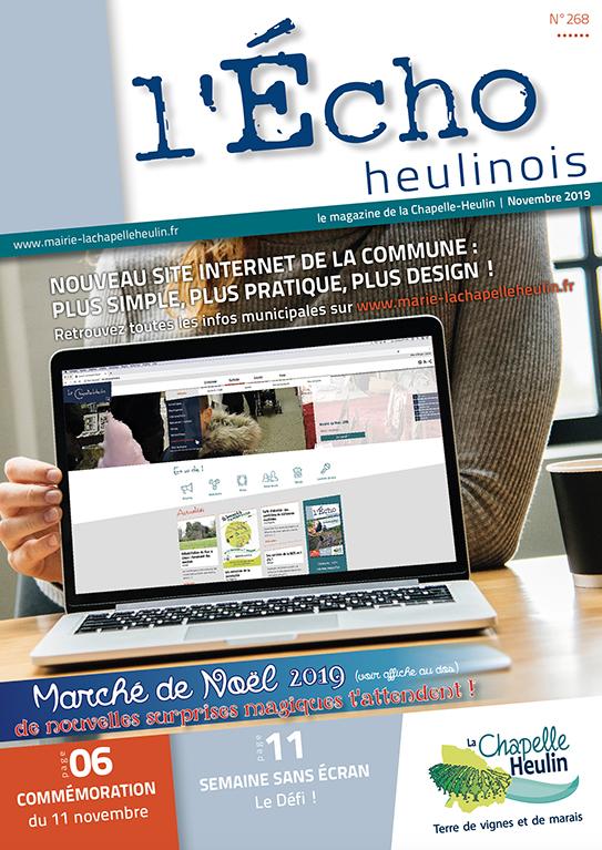 L'Écho Heulinois – Novembre 2019