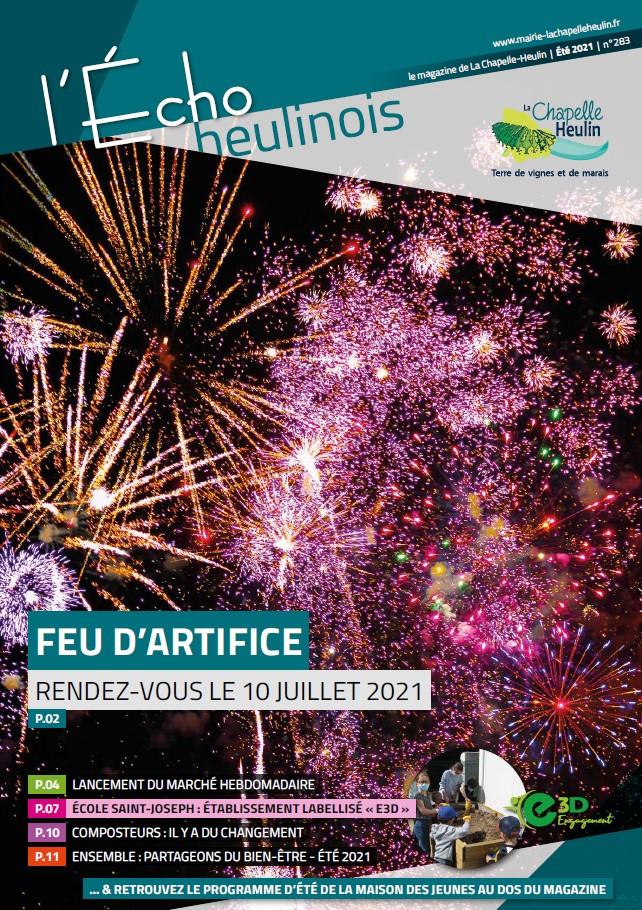 L'ÉCHO HEULINOIS – Juillet / Août 2021